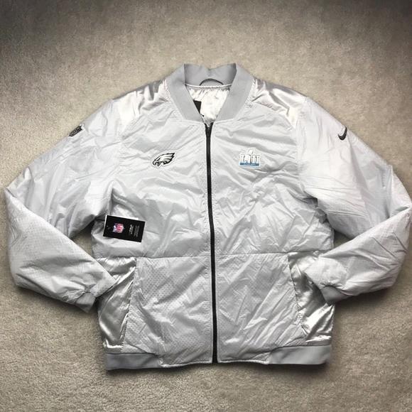 competitive price 0c3c7 29b63 Nike NFL Philadelphia Eagles Super Bowl 52 Jacket NWT